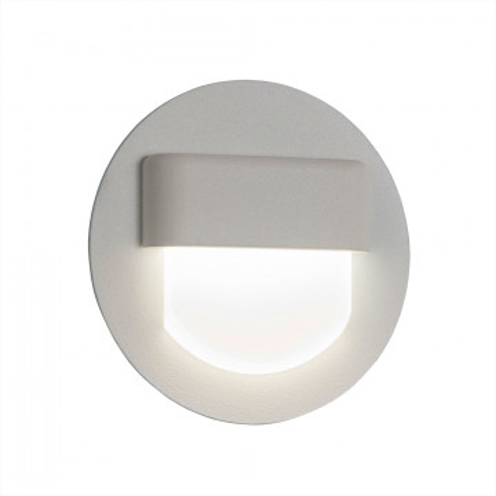 Встраиваемый настенный светодиодный светильник Citilux Скалли CLD006R0, LED 1W, 3000K (теплый), белый, металл, пластик