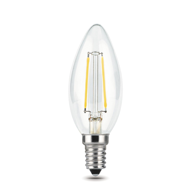 Филаментная светодиодная лампа Gauss 103801205 свеча E14 5W, 4100K (холодный) CRI>90 185-265V, гарантия 3 года - фото 4