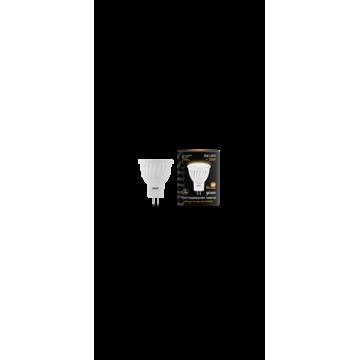 Светодиодная лампа Gauss 132517103 MR11 GU4 3W 290lm 2700K (теплый) CRI>90 150-265V, недиммируемая, гарантия 5 лет