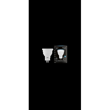 Светодиодная лампа Gauss 132517203 MR11 GU4 3W 300lm 4100K (холодный) CRI>90 150-265V, недиммируемая, гарантия 5 лет