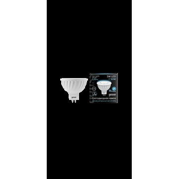 Светодиодная лампа Gauss 201505205 MR16 GU5.3 5W 530lm 4100K (холодный) CRI>90 12V, недиммируемая, гарантия 5 лет