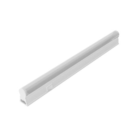 Мебельный светодиодный светильник Gauss 130511205, LED 5W 4100K 420lm CRI>90, белый, пластик