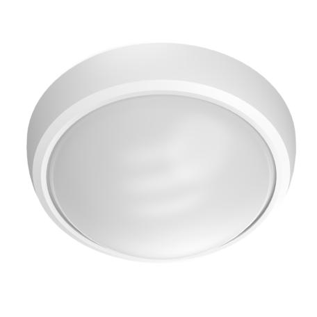 Настенный светодиодный светильник Gauss Basic 141411212, IP65, LED 12W 4000K 990lm CRI70, белый, пластик, стекло