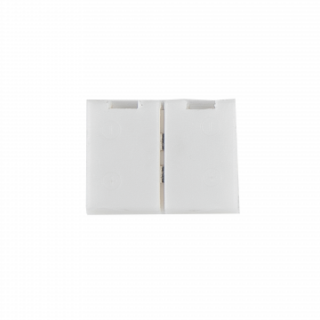 Соединитель для светодиодной ленты Gauss 205200000, белый, пластик