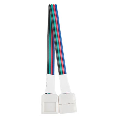 Соединитель для светодиодной ленты Gauss 291200000, белый, пластик