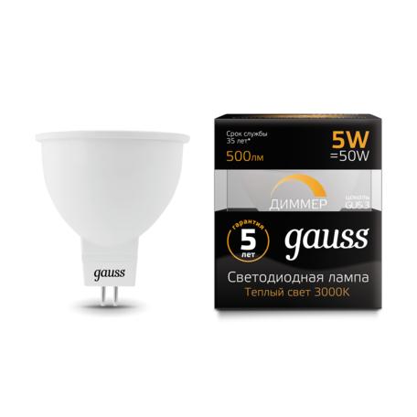 Светодиодная лампа Gauss 101505105-D, белый