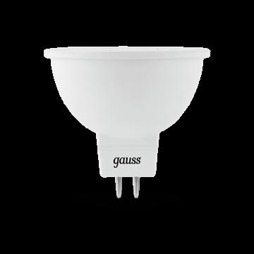 Светодиодная лампа Gauss 101505205 MR16 GU5.3 5W, 4100K (холодный) CRI>90 150-265V, гарантия 5 лет - миниатюра 2