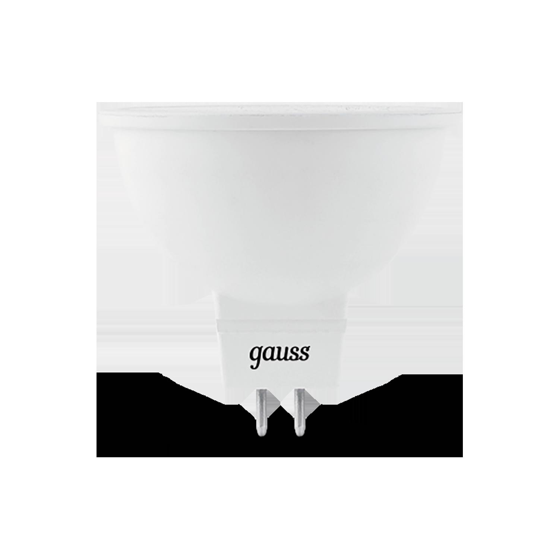 Светодиодная лампа Gauss 101505205 MR16 GU5.3 5W, 4100K (холодный) CRI>90 150-265V, гарантия 5 лет - фото 2