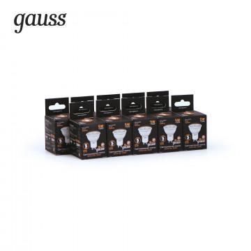 Светодиодная лампа Gauss 101506105 MR16 GU10 5W, 3000K (теплый) CRI>90 150-265V, гарантия 5 лет - миниатюра 3