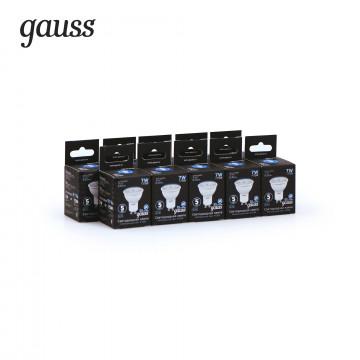 Светодиодная лампа Gauss 101506207 MR16 GU10 7W, 4100K (холодный) CRI>90 150-265V, гарантия 5 лет - миниатюра 2