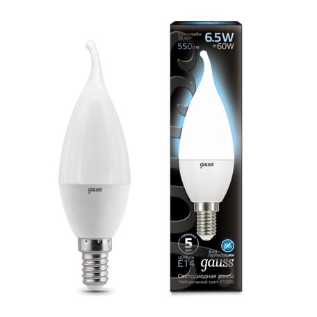 Светодиодная лампа Gauss 104101207, белый