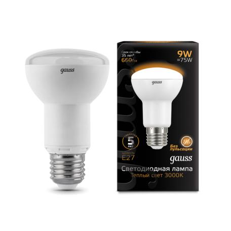 Светодиодная лампа Gauss 106002109, белый