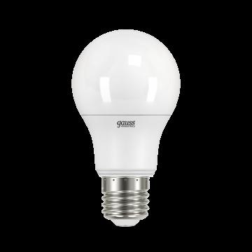Светодиодная лампа Gauss 23227А груша E27 7W, 4100K (холодный) CRI80 220V, гарантия 2 года - миниатюра 2