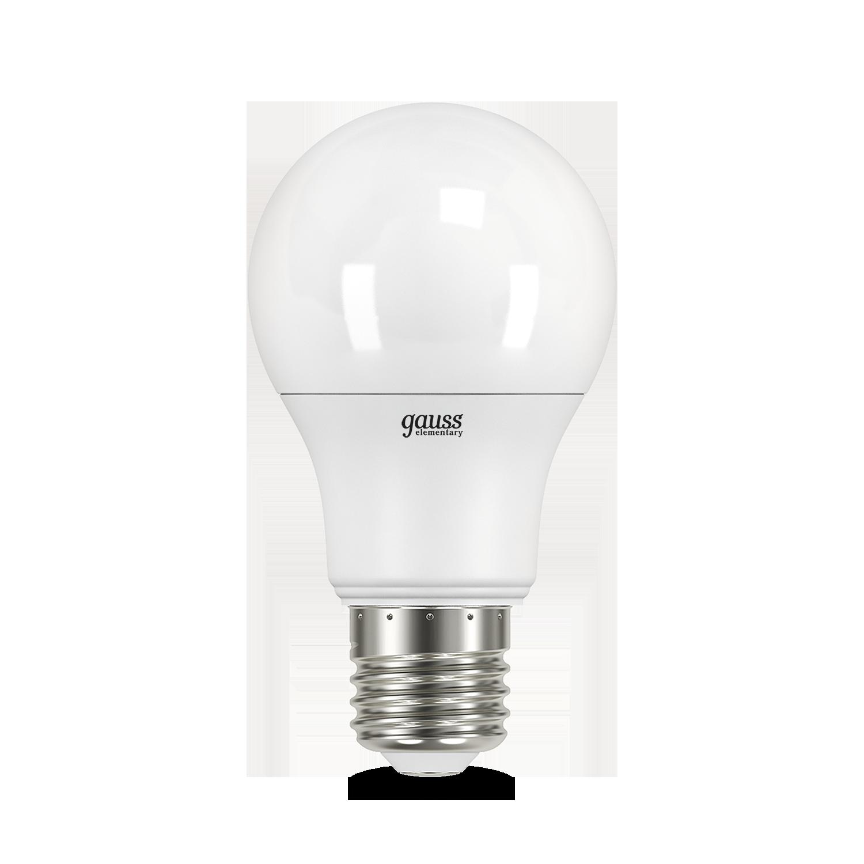 Светодиодная лампа Gauss 23227А груша E27 7W, 4100K (холодный) CRI80 220V, гарантия 2 года - фото 2