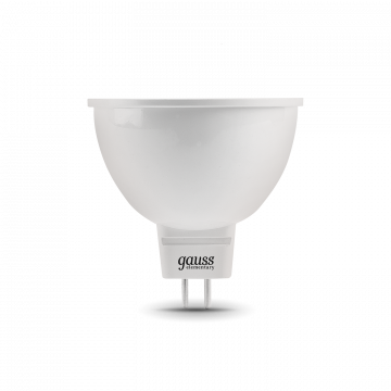 Светодиодная лампа Gauss Elementary 13516 MR16 GU5.3 5,5W, 3000K (теплый) CRI>80 150-265V, гарантия 2 года - миниатюра 2