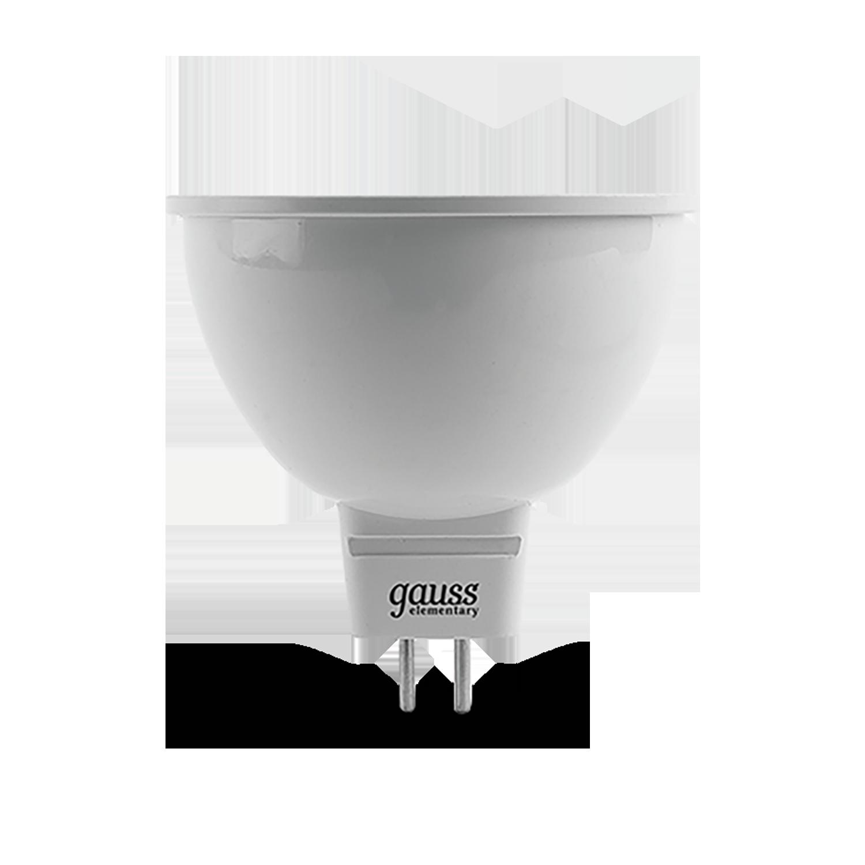 Светодиодная лампа Gauss Elementary 13524 MR16 GU5.3 3,5W, 4100K (холодный) CRI>80 150-265V, гарантия 2 года - фото 2
