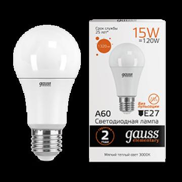 Светодиодная лампа Gauss Elementary 23215, белый