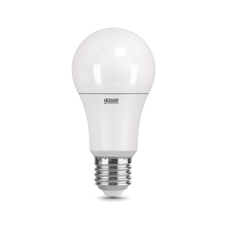 Светодиодная лампа Gauss Elementary 23220 груша E27 10W, 4100K (холодный) CRI>80 150-265V, гарантия 2 года - фото 2