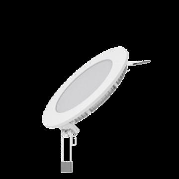 Светодиодная панель Gauss Слим 939111106, LED 6W 2700K 360lm CRI>80, белый, металл с пластиком