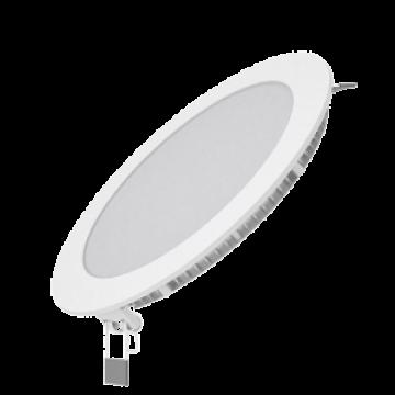 Светодиодная панель Gauss Слим 939111112, LED 12W 2700K 880lm CRI>80, белый, металл с пластиком