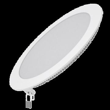 Встраиваемая светодиодная панель Gauss Слим 939111218, LED 18W 4100K 1350lm CRI>80, белый, металл с пластиком