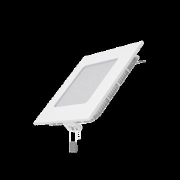 Светодиодная панель Gauss Слим 940111106, LED 6W 2700K 360lm CRI>80, белый, металл с пластиком