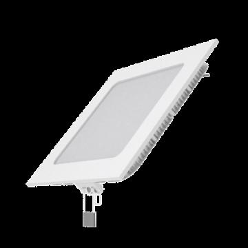 Светодиодная панель Gauss Слим 940111109, LED 9W 2700K 610lm CRI>80, белый, металл с пластиком
