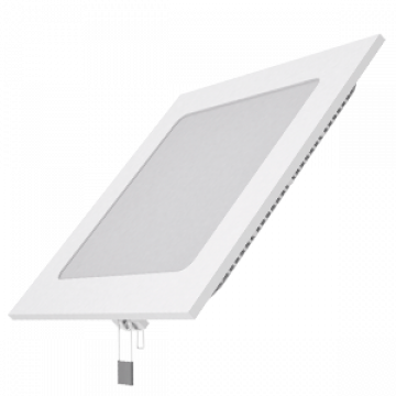 Светодиодная панель Gauss Слим 940111212, LED 12W 4100K 880lm CRI>80, белый, металл с пластиком