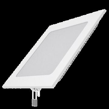 Встраиваемая светодиодная панель Gauss Слим 940111215, LED 15W 4100K 1100lm CRI>80, белый, металл с пластиком