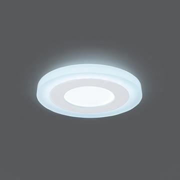 Встраиваемая светодиодная панель Gauss Слим BL115, LED 6W, 4000K (дневной)