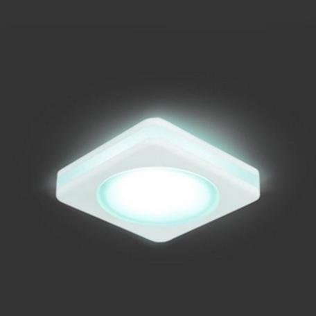 Встраиваемый светодиодный светильник Gauss Backlight BL101, LED 5W 4000K, белый, металл с пластиком