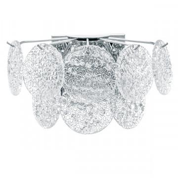 Бра Lightstar Circo 797624, 2xG9x40W, хром, прозрачный, металл, стекло