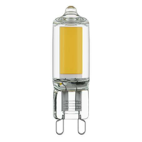 Филаментная светодиодная лампа Lightstar LED 940422 капсульная G9 3,5W, 3000K (теплый) 220V, гарантия 1 год