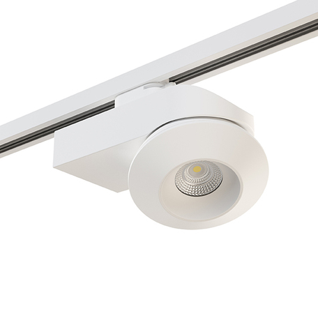 Крепление-адаптер для монтажа светильника на трек Lightstar Asta 592036, белый, металл