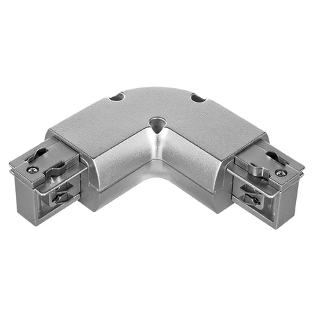 L-образный соединитель для шинопровода Lightstar Barra 504129, серый, пластик