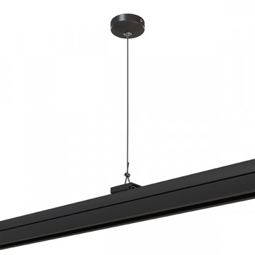 Набор для подвесного монтажа шинной системы Lightstar Barra 504197, черный, металл