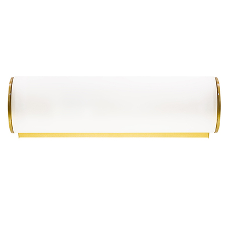 Настенный светильник Lightstar Blanda 801813, 1xE14x40W, золото, белый, металл, стекло