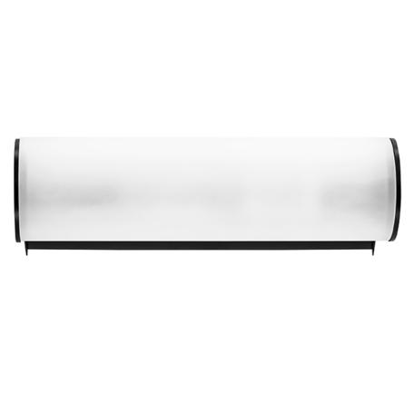 Настенный светильник Lightstar Blanda 801817, 1xE14x40W, черный, белый, металл, стекло