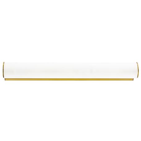 Настенный светильник Lightstar Blanda 801833, 3xE14x40W, золото, белый, металл, стекло