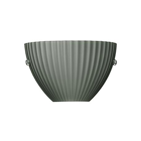 Настенный светильник Lightstar Agola 810811, 1xG9x40W, хром, серый, металл, стекло
