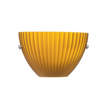 Бра Lightstar Agola 810813, 1xG9x40W, хром, оранжевый, металл, стекло