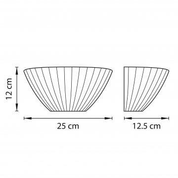 Схема с размерами Lightstar 810821
