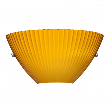 Бра Lightstar Agola 810823, 2xG9x40W, хром, оранжевый, металл, стекло