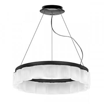 Подвесная люстра Lightstar Nibbler 812186, 18xG9x6W, черный, белый, черно-белый, металл, стекло