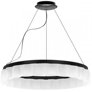 Подвесная люстра Lightstar Nibbler 812236, 23xG9x6W, черный, белый, черно-белый, металл, стекло