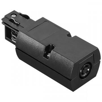 Подвод питания для шинной системы Lightstar Barra 504117, черный, пластик