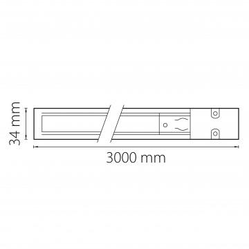 Схема с размерами Lightstar 504036