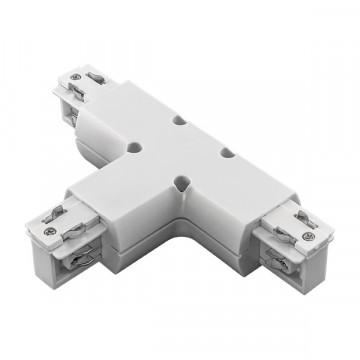 T-образный соединитель для шинопровода Lightstar Barra 504136, белый, пластик