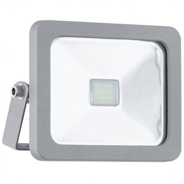 Светодиодный прожектор Eglo Faedo 1 95403, IP65, LED 10W, серебро, металл, стекло