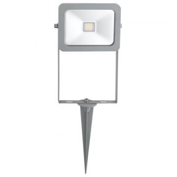 Светодиодный прожектор Eglo Faedo 2 96285, IP44, LED 10W, серебро, металл, стекло
